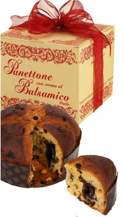 Panettone con Crema di Balsamico 750g - 1