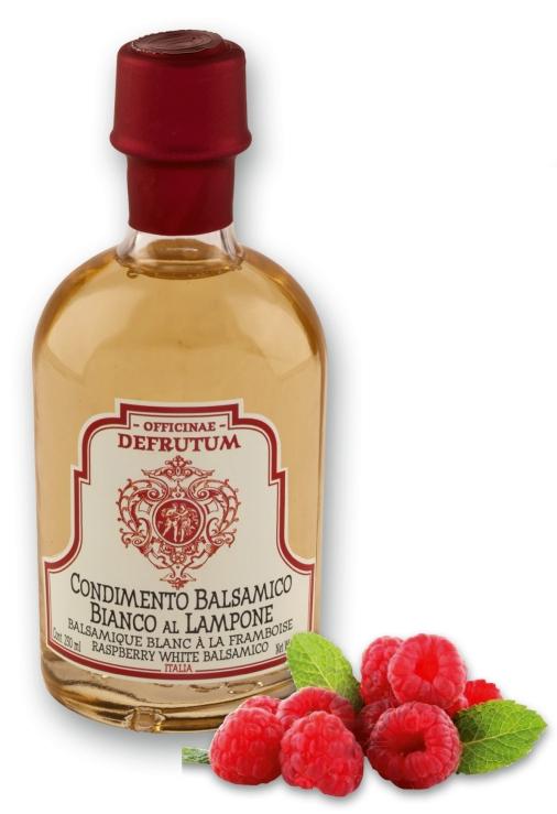 WHITE BALSAMICO flavoured RASPBERRY 250ml - 1