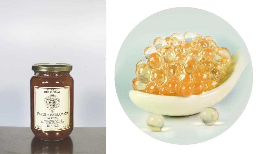DF0625: Perle di Balsamico Bianco al FICO 370g - 1