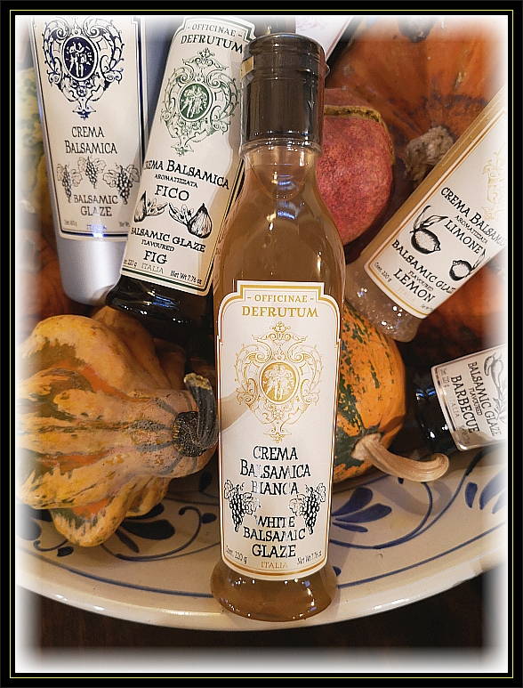 White Grape Balsamic Glaze 220g - 1
