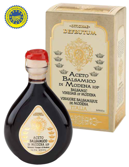 MARGHERITA: Balsamic Vinegar of Modena - Serie 8 Crowns 250ml - 1