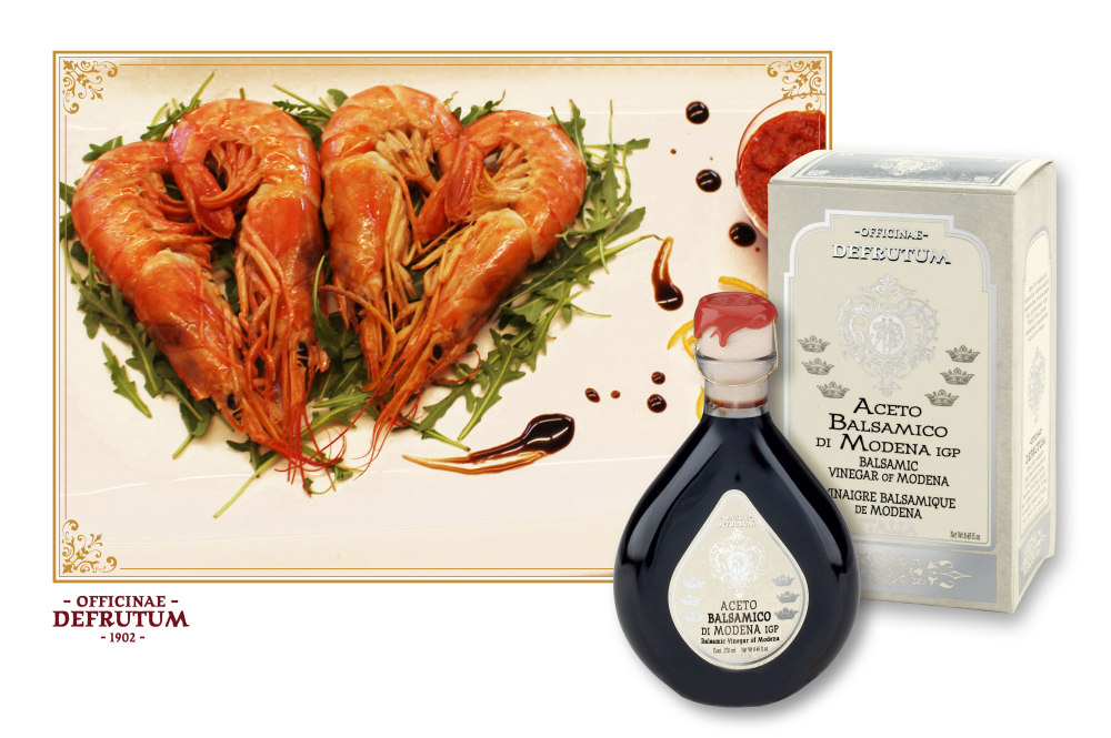MARGHERITA: Balsamic Vinegar of Modena - Serie 6 Crowns 250ml - 3