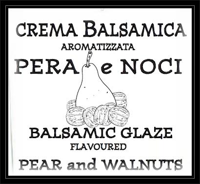 Balsamic Glaze flavoured PEAR & WALNUT 220g - 1