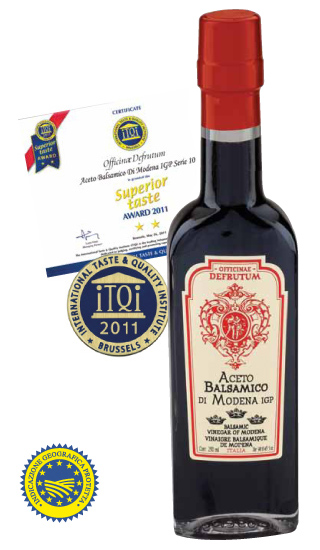 VITTORIA: Balsamic Vinegar of Modena - Serie 3 Crowns 250ml - 1