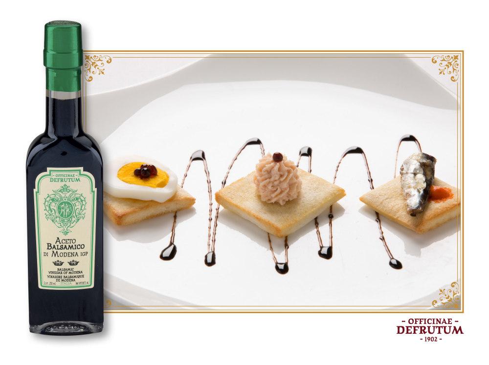 VITTORIA: Balsamic Vinegar of Modena - Serie 2 Crowns 250ml - 2