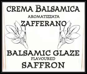 "Linea ""Balsamic creams & glazes"" - ""Balsamic Glaze flavoured ORANGE 220g - 12"""