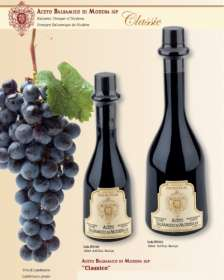 "Linea ""Balsamic vinegar of modena pgi"" - ""MARGHERITA: Balsamic Vinegar of Modena - Serie 6 Crowns 250ml - 10"""
