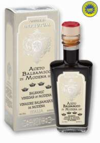 "Linea ""Balsamic vinegar of modena pgi"" - ""MARGHERITA: Balsamic Vinegar of Modena - Serie 6 Crowns 250ml - 6"""