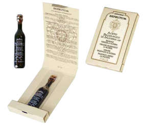 "Linea ""Balsamic vinegar of modena pgi"" - ""MARGHERITA: Balsamic Vinegar of Modena - Serie 8 Crowns 250ml - 3"""