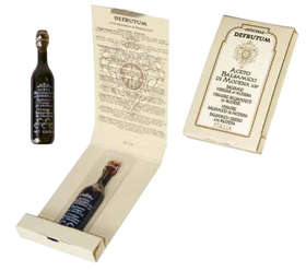 "Linea ""Balsamic vinegar of modena pgi"" - ""MARGHERITA: Balsamic Vinegar of Modena - Serie 6 Crowns 250ml - 2"""