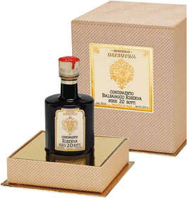 "Linea ""Black balsamic flavours"" - ""Balsamic Condiment flavoured DATE 250ml - 17"""