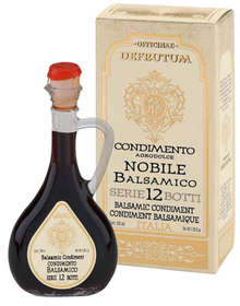 "Linea ""Black balsamic flavours"" - ""Balsamic Condiment flavoured DATE 250ml - 9"""