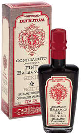 "Linea ""Black balsamic flavours"" - ""Balsamic Condiment flavoured DATE 250ml - 8"""
