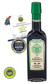 "Linea ""Balsamic vinegar of modena pgi"" - ""MARGHERITA: Balsamic Vinegar of Modena - Serie 8 Crowns 250ml - 8"""